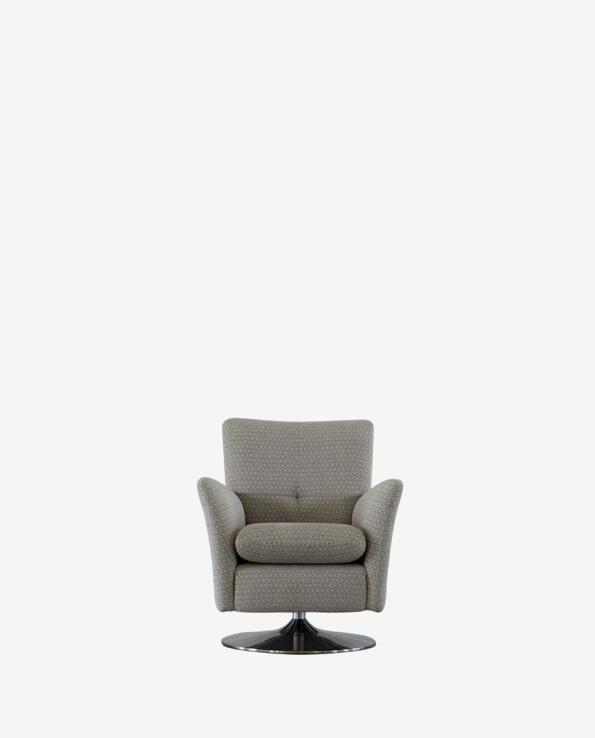 Astonishing Parker Knoll Evolution 1704 Swivel Rocker Chair In Leather Machost Co Dining Chair Design Ideas Machostcouk