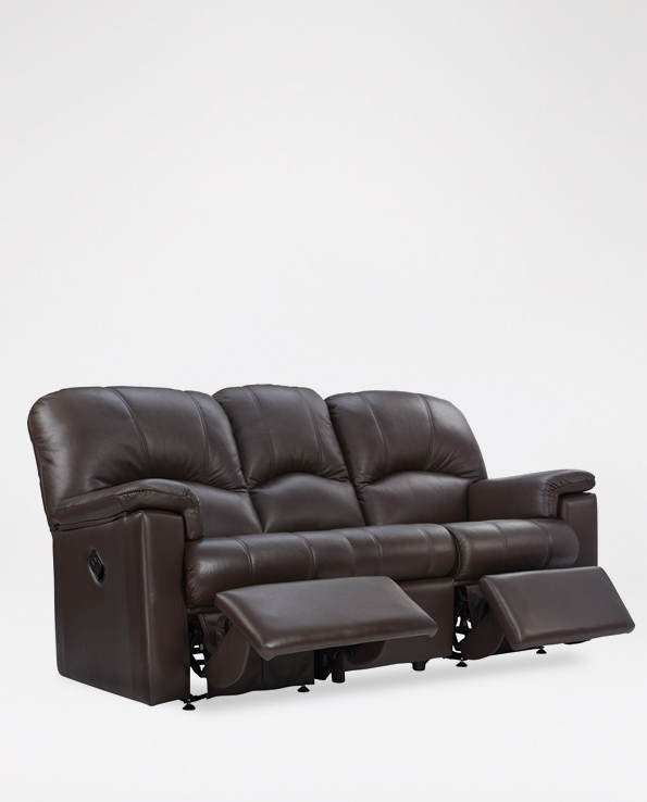 Marvelous G Plan Chloe 3 Seater Sofa In Leather Machost Co Dining Chair Design Ideas Machostcouk