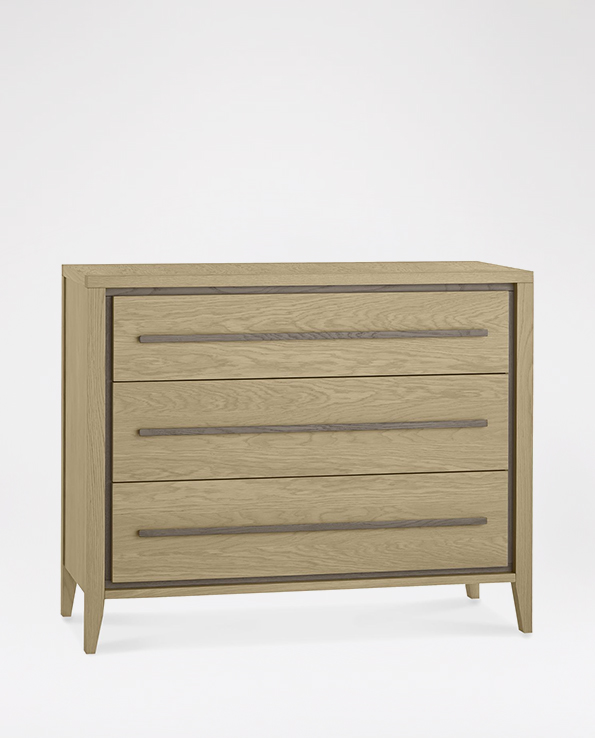 Bentley Designs Rimini 3 Drawer Chest Haskins Furniture