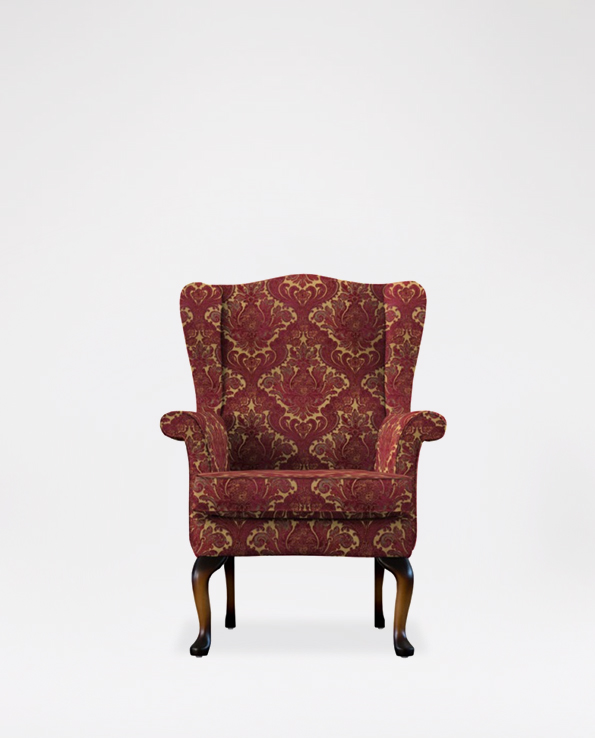 Parker Knoll Hartley Wing Chair In Fabric Haskins Furniture