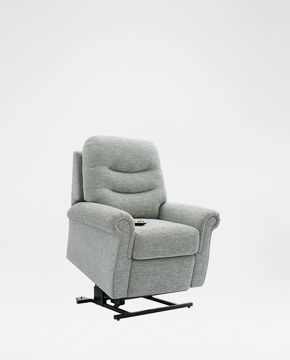 Small Elevate Chair in Fabric
