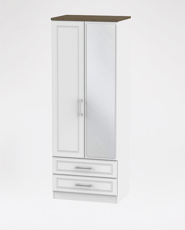 Tall Drawer Mirror Robe