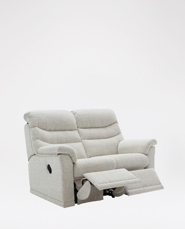 G Plan Malvern 2 Seater in Leather