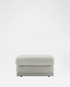 G Plan Malvern Footstool in Leather