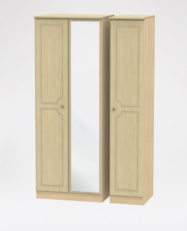 Tall Triple Mirror Robe