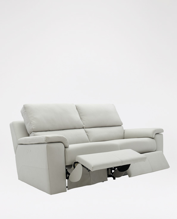 G Plan Taylor 3 Seater in Leather