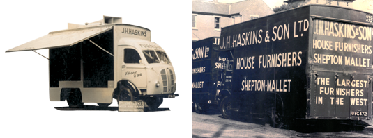Early Haskins lorries