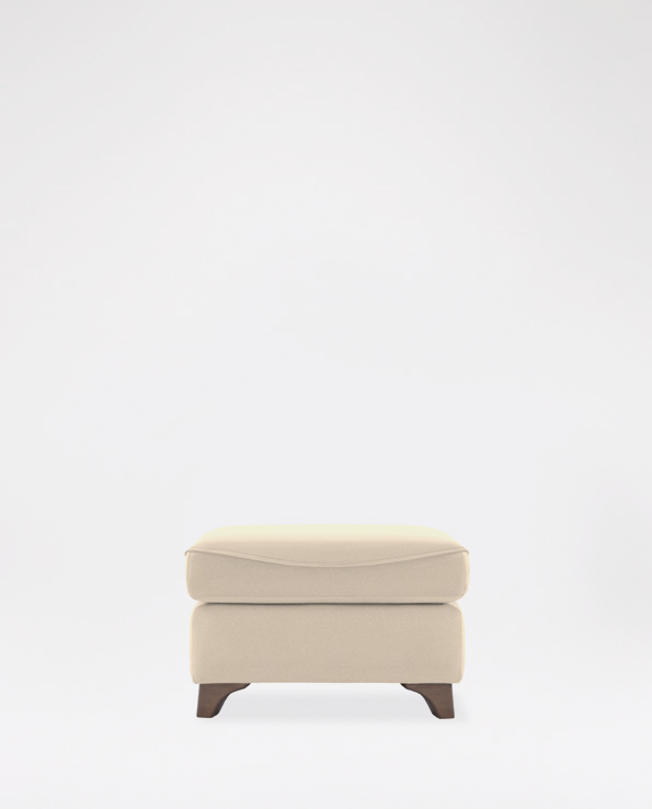 G Plan Jackson Footstool in Leather