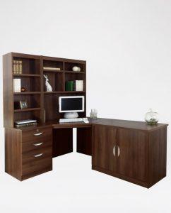 R. White Cabinets Corner Desk