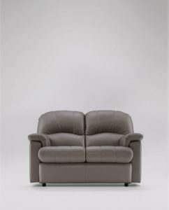 Small 2 Seater Sofa in Leather