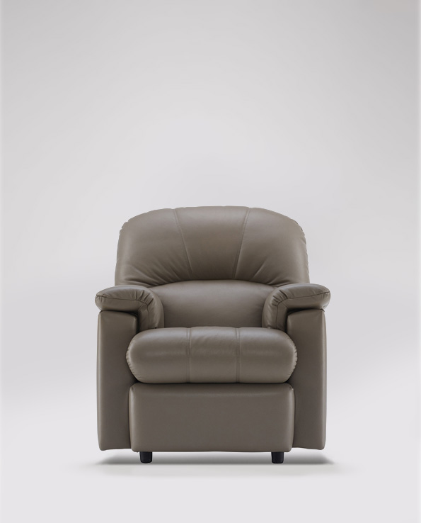 G Plan Chloe Small Armchair in Leather