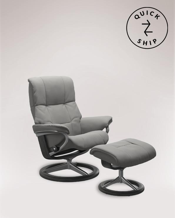 Medium Chair and Footstool