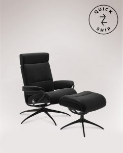 Tokyo Chair with Footstool